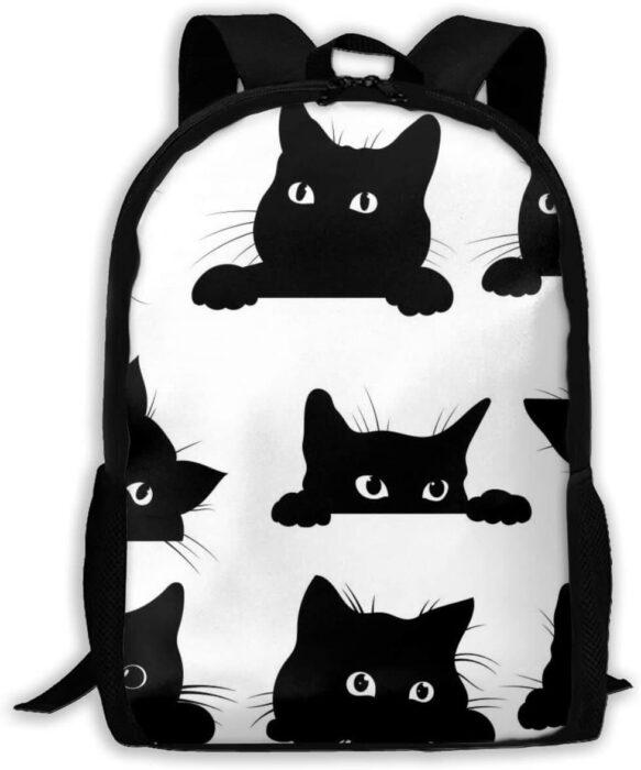 Encuentra Aquí Las Más Originales Mochilas De Gato Negro Te Encantarán